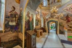 Крестовоздвиженский храм на Ближних пещерах (Притвор)